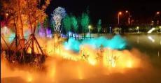 中藝光影承接霧森燈光設計夜游多場景服務