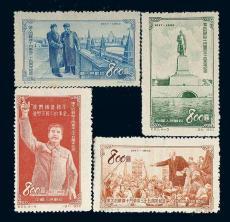 藍軍郵郵票的價格行情 藍軍郵郵票現在值多