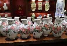 國瓷紅遍九州醴陵釉下五彩瓷