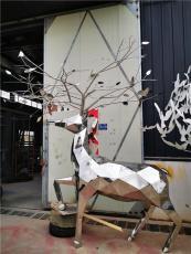 不锈钢鹿-合肥追风雕塑