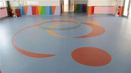 山东济南市LG幼儿园防滑塑胶地板