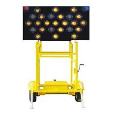 拖挂式太阳能施工导向车 高速施工指示车