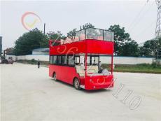 河南玖川17座双层巴士电动观光车