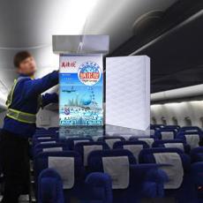 飞机内部清洗 纳米海绵 强去污不伤物体表面