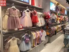 廣州童裝展柜專業生廠家 童裝貨架