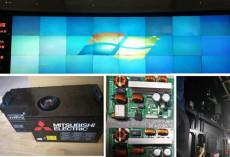 三菱DLP显示墙投影仪维修三菱VS-70CH光机