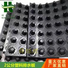 晋城2公分塑料排水板车库屋顶绿化滤水板