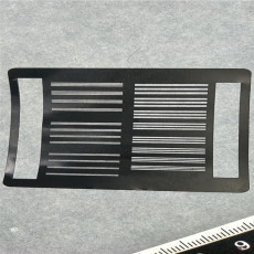 30微米狭缝切割光谱仪狭缝片激光切割加工