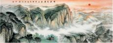 中华风采大型山水书画套组