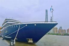 水晶公主号 上海游轮自助餐 外滩游船晚宴