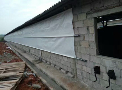 畜牧养殖场卷帘布防雨帆布猪场牛棚卷帘