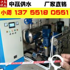 张掖无负压供水设备原理远程运维系统