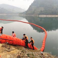 山区小型水电站进水口拦垃圾浮筒闸口拦污排