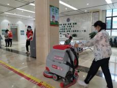 性能好的南寧手推式洗地機提升醫院環境衛生