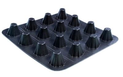 南昌 14mm厚高分子防护排水异型片/生产厂家