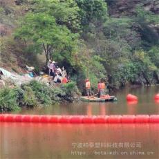 永宁河漂浮物拦漂设备水库进水口拦污排