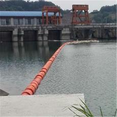 益阳水上拦垃圾浮桶升降式拦漂装置