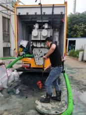 江寧區橫溪清理化糞池污水池干濕分離處理