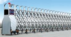 天津定制不锈钢伸缩门-电动无轨伸缩门安装