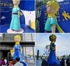 玻璃鋼王子雕塑 卡通人物商場門口觀賞擺件
