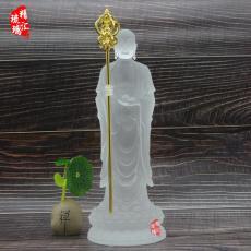 北京济南琉璃佛像批发 地藏王菩萨琉璃佛像