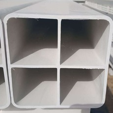 PVC四孔格栅管多孔通信管 标准107方管厂