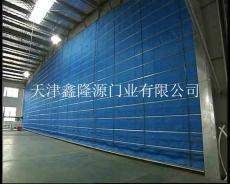 天津防火卷帘门安装 钢制工程门定制厂家