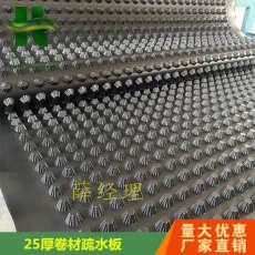 连云港H25高塑料排水板丨地下室凹凸疏水板