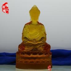释迦牟尼佛古法琉璃佛像居家佛堂佛像供奉