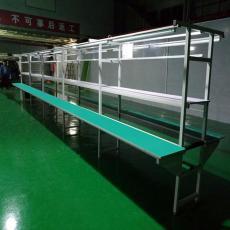 生产流水线传输送带工作台滚筒分拣线厂家