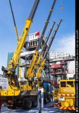 嘉定方泰镇出租吊车施工工地在应用起重机
