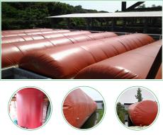 100立方米红膜沼气袋价格 每天产气量