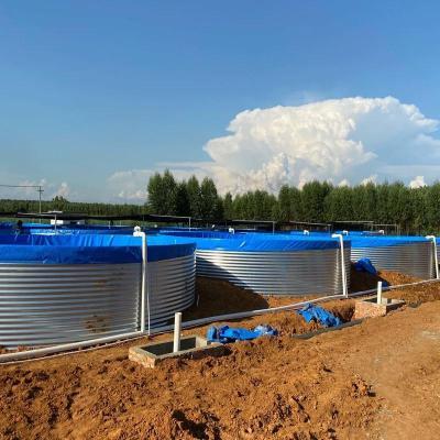POE材质帆布养殖池对比PVC材质帆布鱼池