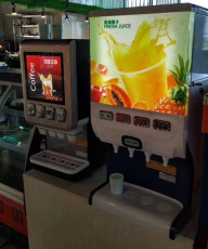 西餐厅可乐机器开封可乐机可乐糖浆价格