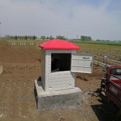机井灌溉射频卡控制器厂家 智能防盗玻璃钢