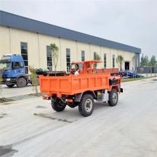海西載重16噸礦石的中型礦山工程翻斗車