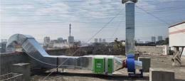 三乡镇离心风机厂房通风安装