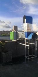台山市九洲风机厂房通风安装