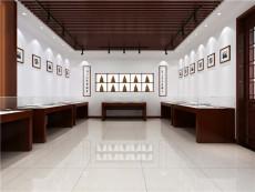 苏州木质烤漆博物馆展柜-博物馆烤漆展柜厂