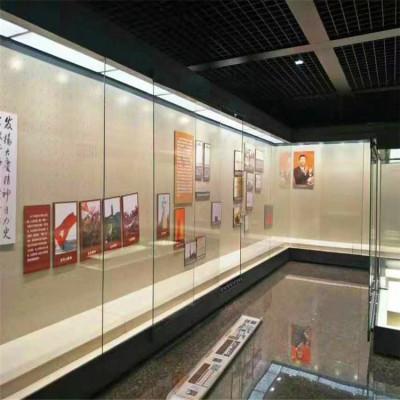 隆城展示恒溫恒濕博物館字畫展柜定制