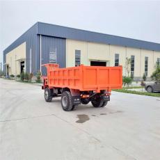 新余采用转向助力的巷道矿用运渣车