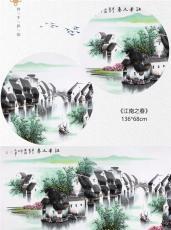 四季和韵江南水乡美景山水画