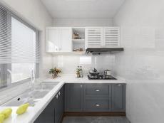 凱米特全屋全鋁定制現代簡約櫥柜整體廚房組