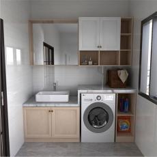 凯米特全屋全铝定制阳台卫生间洗衣机伴侣落