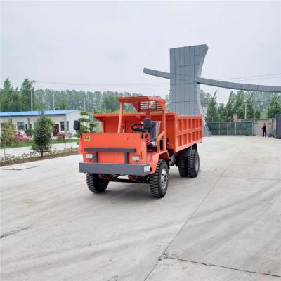 松原履带自卸车性能优越爬坡度高