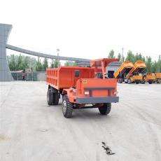 邯鄲氣剎制動的25噸銀礦礦用四驅車
