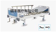 供应ABS床头双摇手动护理床病床生产批发销s