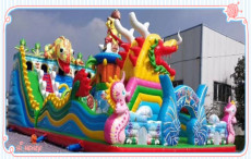 广场儿童充气城堡蹦床厂家