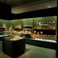 博物館展柜制作定制價格 文物展柜生產施工