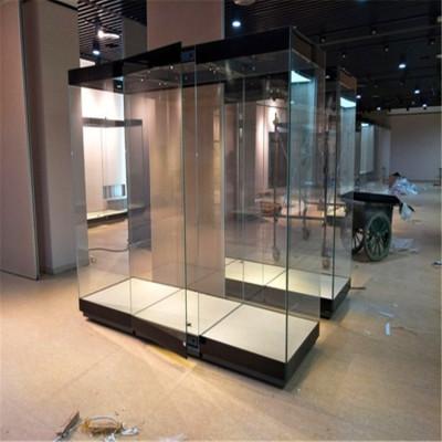 上海制作大型博物館沿墻柜 博物館獨立柜